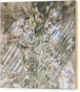 Crystals And Stones Zeolite 4718 Wood Print