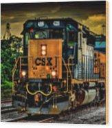 Csx 4226 Wood Print