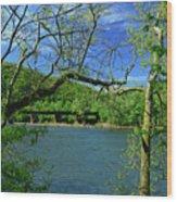 Csx Transportation Bridge Wood Print