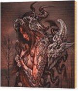 Cthluhu Princess Wood Print