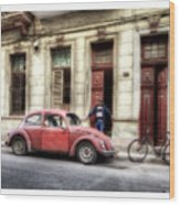 Cuba 17 Wood Print