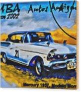 Cuba Antique Auto 1957 Mercury Monterrey Wood Print