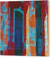 Cuba Architecture Wood Print