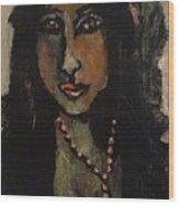 Cuba Lady Wood Print