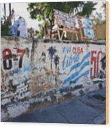 Cuba Wall Wood Print