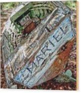Cuban Refugee Boat 3 The Mariel Wood Print