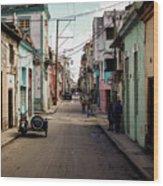 Cuban Street Wood Print