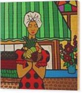 Cuban Vignette Wood Print