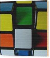 Cubeit Wood Print