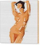 Cubism Series 24 Wood Print