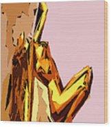 Cubism Series Xxi Wood Print