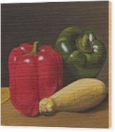 Cucina Italiana Wood Print