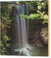 Cucumber Falls Wood Print