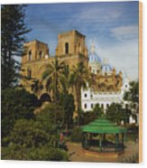 Cuenca Is A World Heritage Site Wood Print