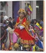 Cuenca Kids 719 Wood Print