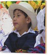 Cuenca Kids 833 Wood Print