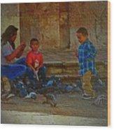 Cuenca Kids 875 Wood Print