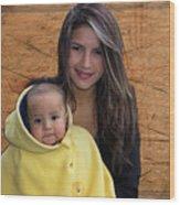 Cuenca Kids 878 Wood Print