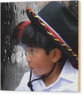 Cuenca Kids 880 Wood Print