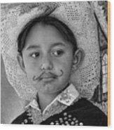 Cuenca Kids 883 Wood Print