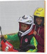 Cuenca Kids 889 Wood Print