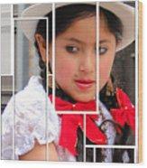 Cuenca Kids 890 Wood Print