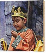Cuenca Kids 903 Wood Print