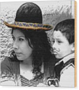 Cuenca Kids 912 Wood Print
