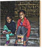 Cuenca Kids 953 Wood Print
