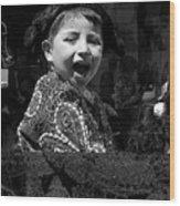 Cuenca Kids 954 Wood Print