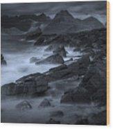 Cuillin From Elgol Wood Print