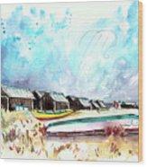 Culatra Island 07 Wood Print