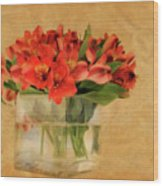 Cultivated Beauty Wood Print