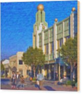 Culver City Plaza Theaters   Wood Print