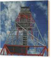 Culver Fire Tower Wood Print
