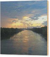 Cumberland River - Nashville  Wood Print