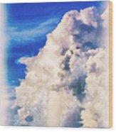 Cumulonimbu Over Tampa Bay Wood Print