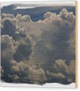 Cumulonimbus Wood Print