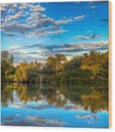 Cumulus Colors Wood Print