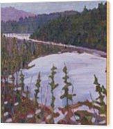 Cunnington Marsh Wood Print