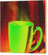 cup Wood Print
