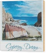 Cupecoy Dream Poster Wood Print