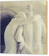 Cupid And Psyche Wood Print