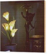 Cupid Wood Print