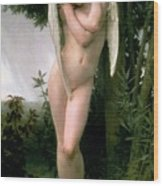 Cupidon Wood Print by William Adolphe Bouguereau