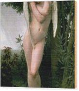 Cupidon Wood Print