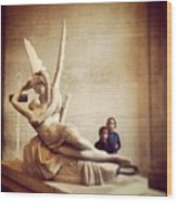 Cupid's Kiss Wood Print