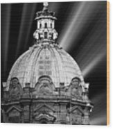 Cupola In Rome Wood Print