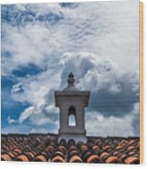 Cupula Antigua Guatemala 1 Wood Print