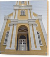 Curacao - The Office Of The Public Prosecutor Wood Print
